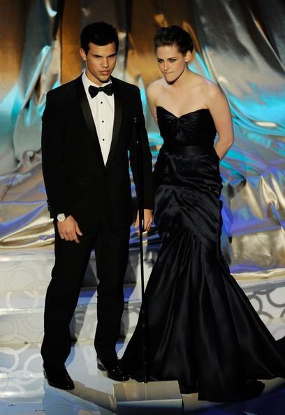 Taylor Lautner e Kristen Stewart agli 82nd Academy Awards