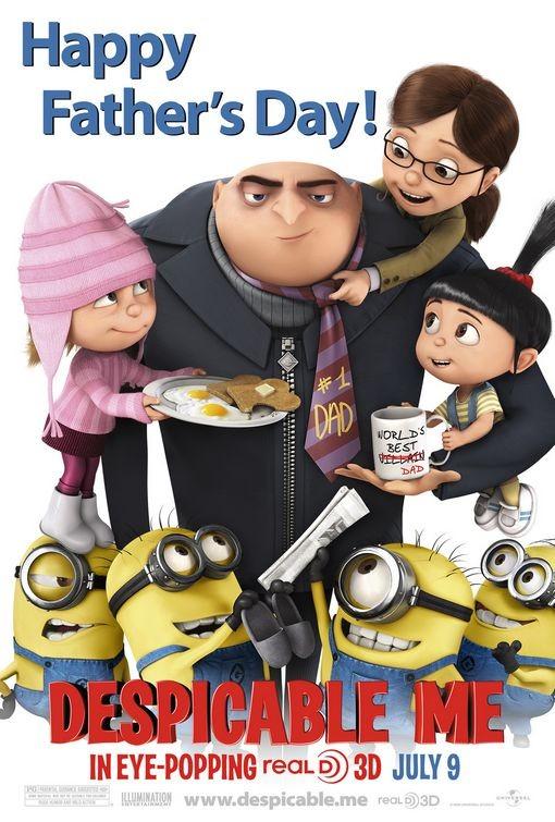 Un poster speciale per la Festa del Papà di Despicable Me