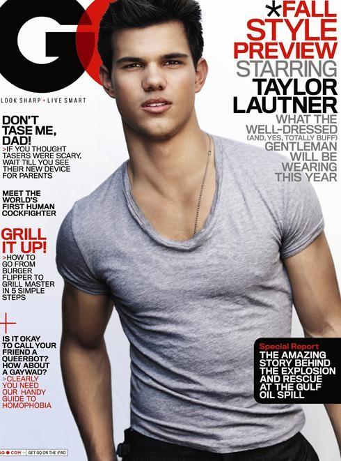 2010: Taylor Lautner sulla cover di GQ USA