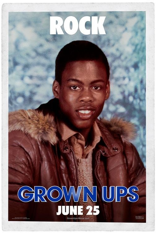 Character Poster per Grown Ups - Chris Rock