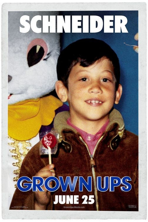 Character Poster per Grown Ups - Rob Schneider