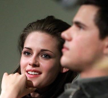 Kristen Stewart e Taylor Lautner presentano The Twilight Saga: Eclipse a Roma