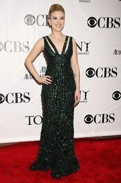 Scarlett Johansson ai Tony Awards 2010