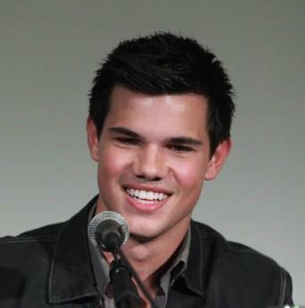 Taylor Lautner durante la presentazione romana di The Twilight Saga: Eclipse