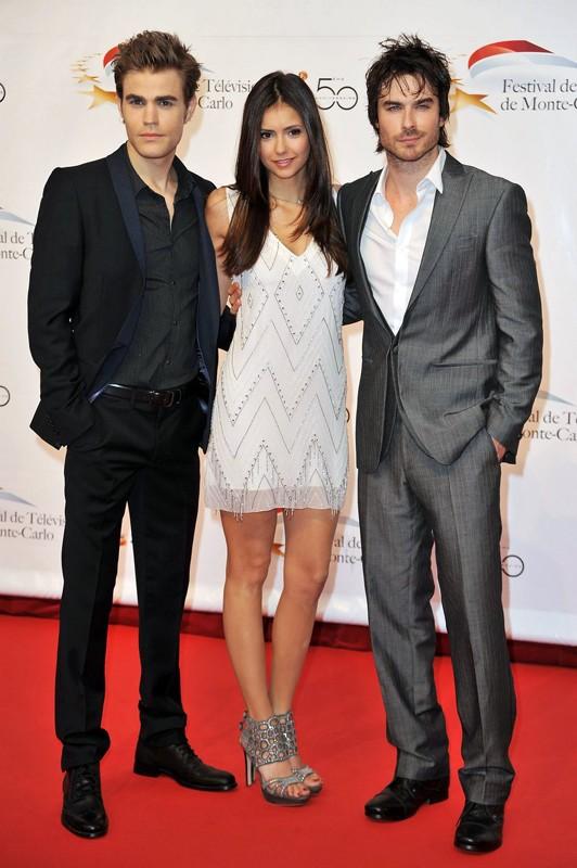 I protagonisti di The Vampire Diaries per il Monte Carlo Television Festival a Monte-Carlo, Monaco, il 6 giugno 2010