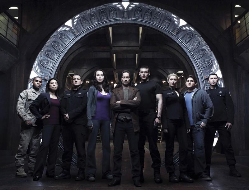 Il cast principale della prima stagione di Stargate Universe