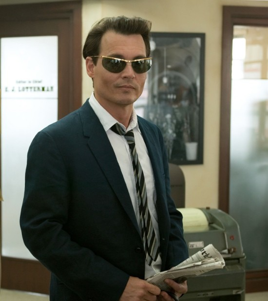 Johnny Depp alter ego di Hunter S. Thompson in The Rum Diary