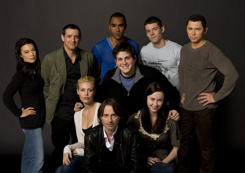 Una foto di gruppo per la first season di Stargate Universe