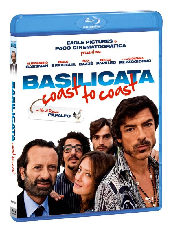 La copertina di Basilicata Coast to Coast (blu-ray)