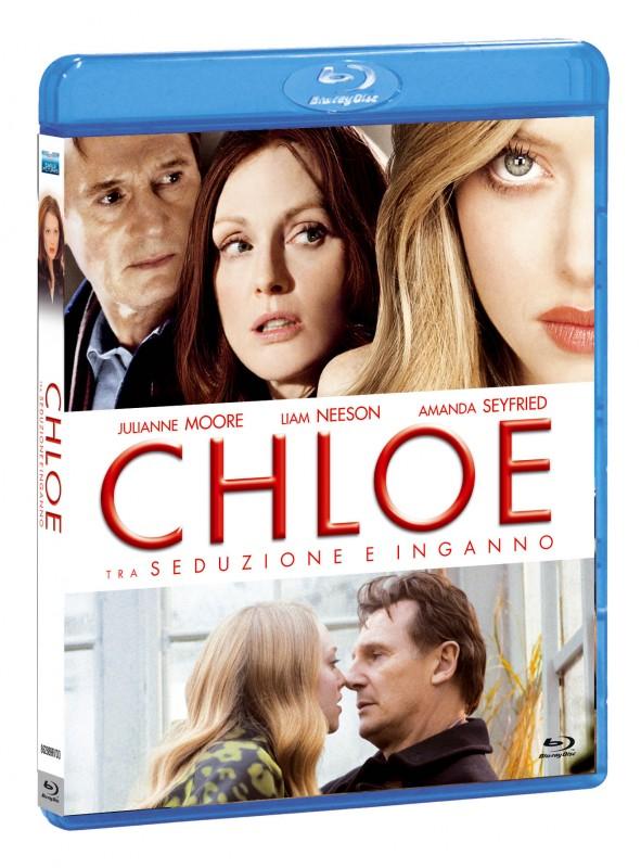 La copertina di Chloe (blu-ray)