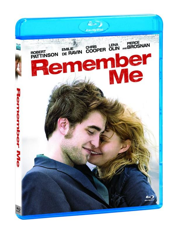 La copertina di Remember Me (blu-ray)