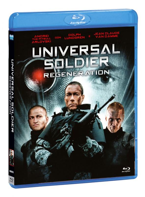 La copertina di Universal Soldier: Regeneration (blu-ray)