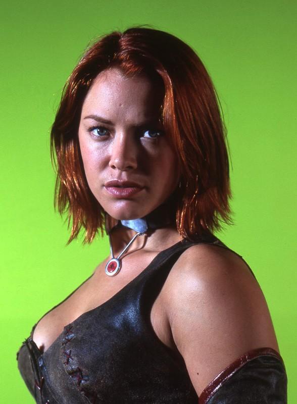 Un primo piano di Kristanna Loken nel ruolo di Rayne per il film BloodRayne
