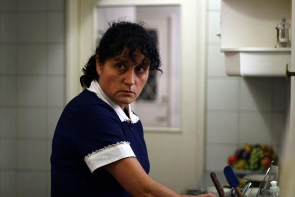 Catalina Saavedra in un'immagine del dramma cileno La Nana