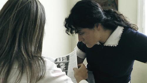 Catalina Saavedra in una scena de La Nana