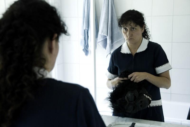 Catalina Saavedra, protagonista del drammatico La Nana