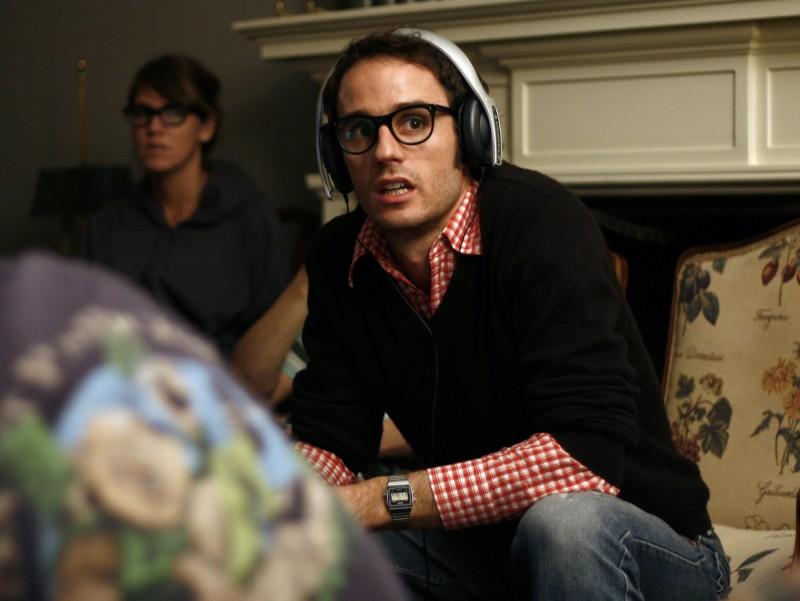 Sebastián Silva sul set del suo film La Nana