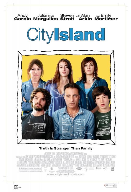 La locandina americana di City Island
