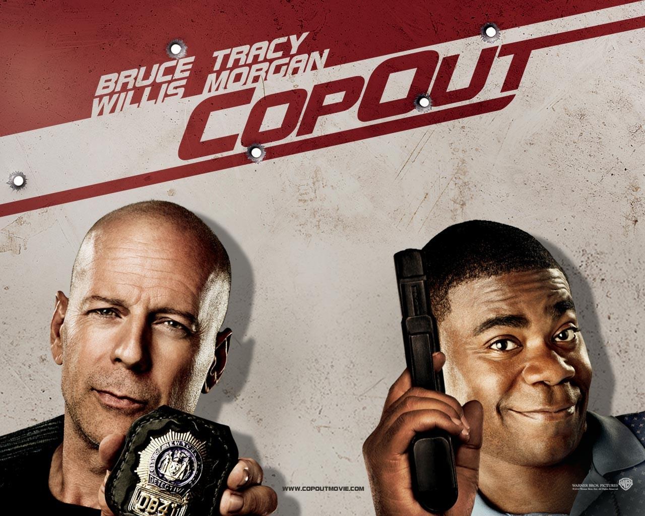 Poster di Bruce Willis e Tracy Morgan per Cop Out