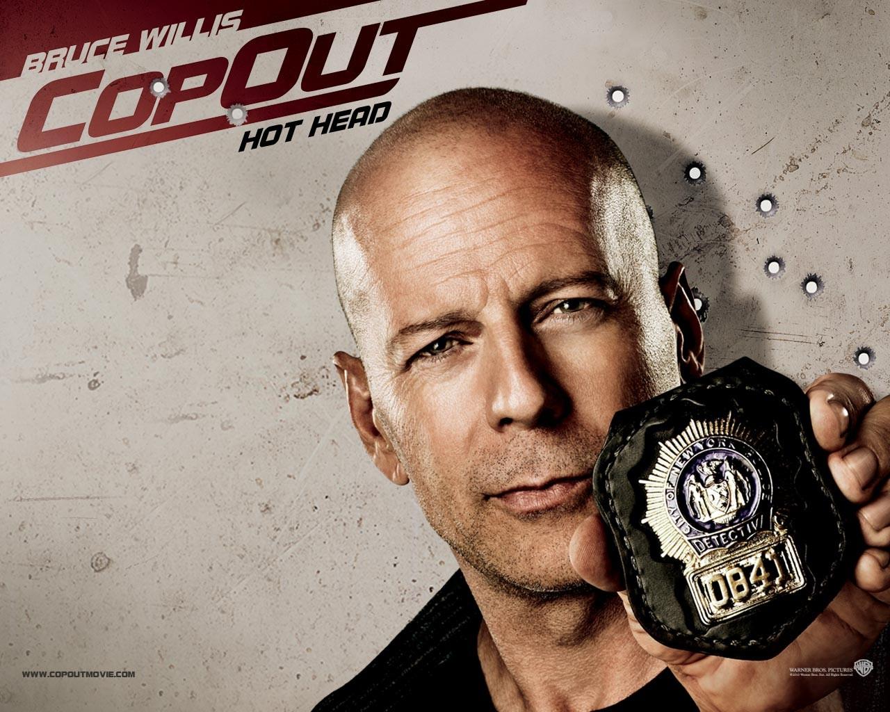 Poster di Bruce Willis per Cop Out
