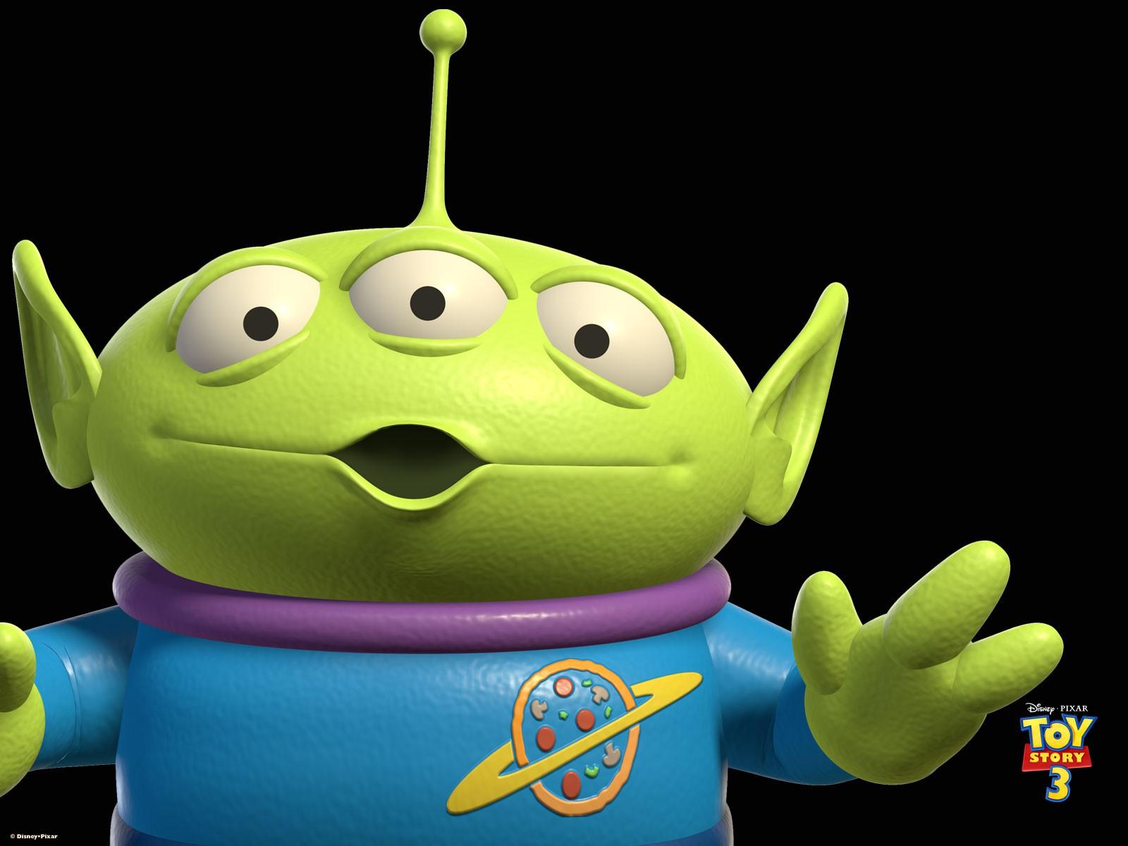 Poster di uno degli Alieni di Toy Story 3