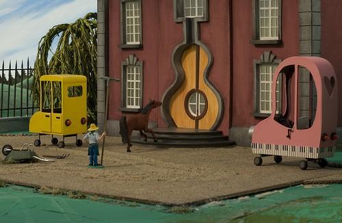 Un'immagine di Panico al villaggio
