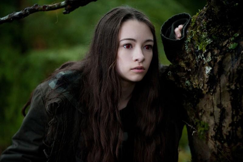 La vampira Bree (Jodelle Ferland) in un'immagine tratta dal film The Twilight Saga: Eclipse