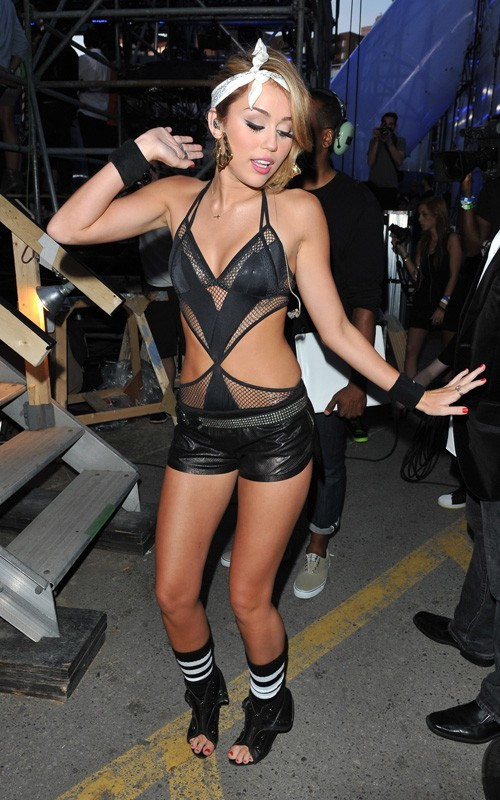 Much Music Video Awards: Miley cyrus trasgressiva
