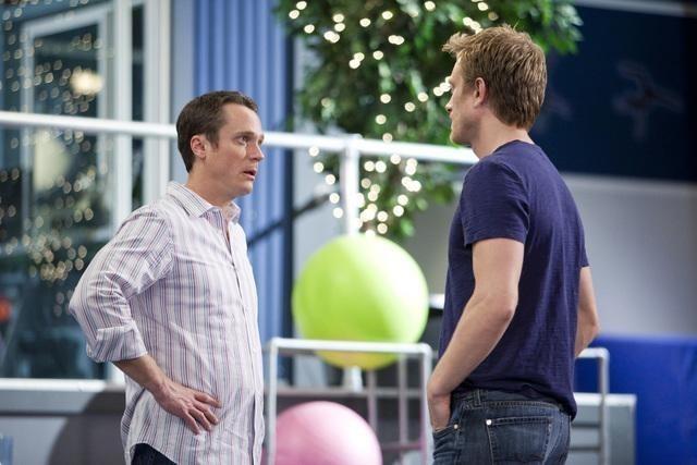 Neil Jackson ed Anthony Starke nell'episodio Friends Close, Enemies Closer di Make it or Break it