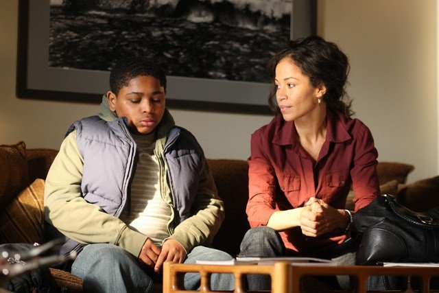 Sherri Saum ed Aaron Shaw nella serie In Treatment