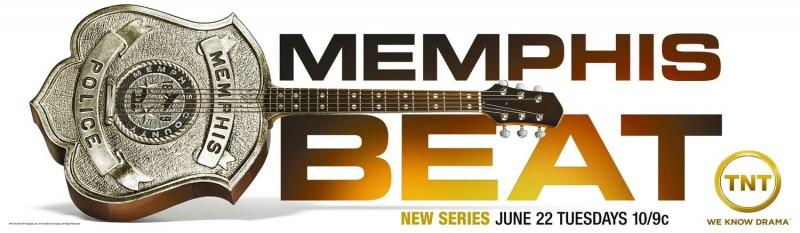 Un poster con sviluppo orizzontale di Memphis Beat