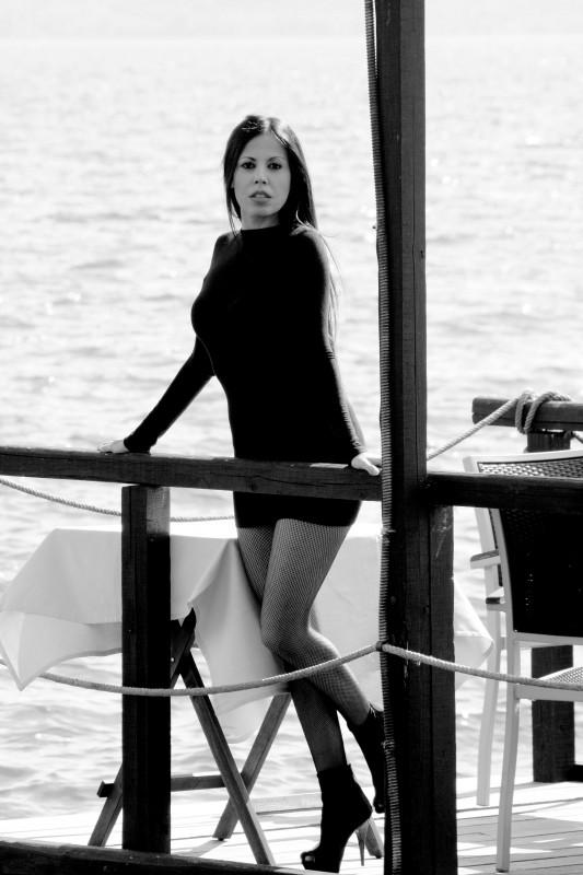Una sexy immagine dell'attrice Fulvia lorenzetti