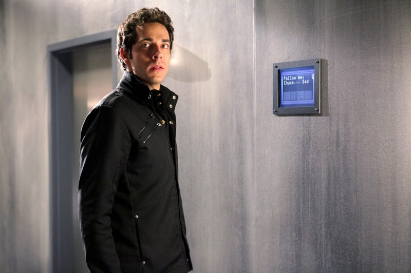 Chuck (Zachary Levi) in un momento dell'episodio Chuck Versus the Subway