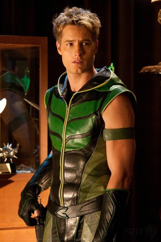 Justin Hartley nell'episodio Absolute Justice di Smallville