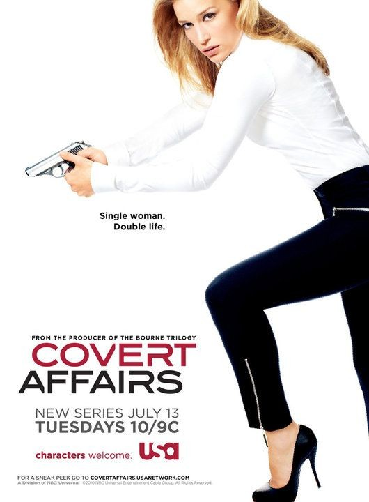 La locandina di Covert Affairs