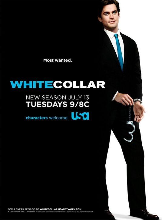 Un poster della stagione 2 di White Collar