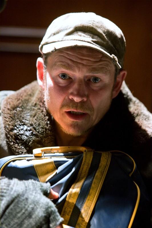 Uno sconvolto Kent Nelson (Brent Stait) nell'episodio Absolute Justice di Smallville