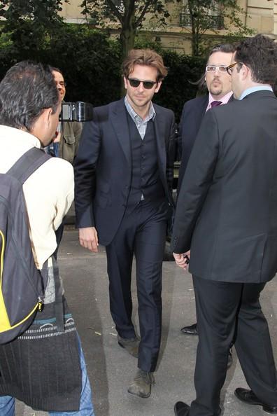 Bradley Cooper a Parigi per promuovere A-Team