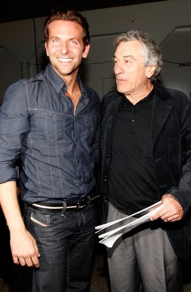 Bradley Cooper accanto a Robert De Niro al quarto Guys Choice Awards