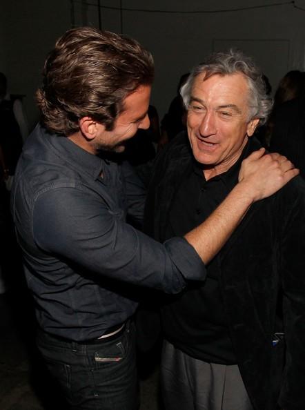 Bradley Cooper con Robert De Niro al quarto Guys Choice Awards