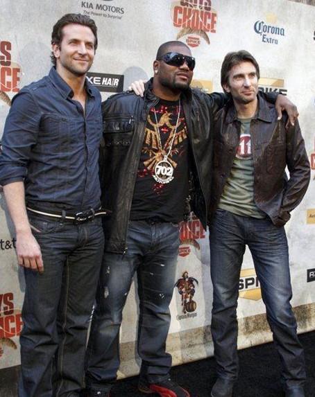 Bradley Cooper, Quinton Jackson, Sharlto Copley presentano A-Team al Guys Choice Awards 2010