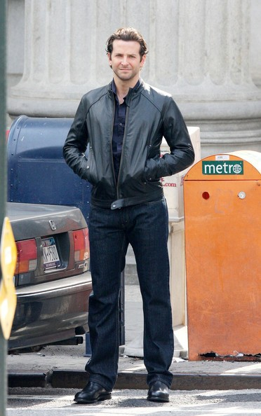 Bradley Cooper sul set di The Dark Field