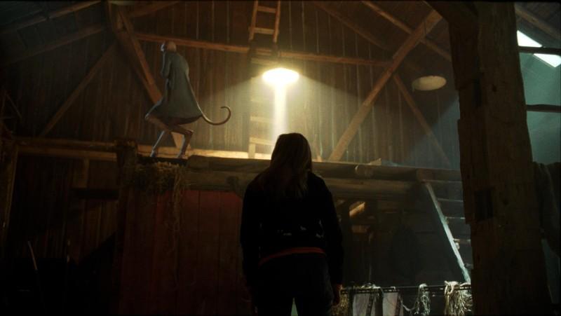 Una scena del film Splice