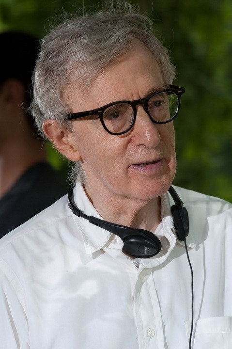 Woody Allen sul set del film You Will Meet a Tall Dark Stranger