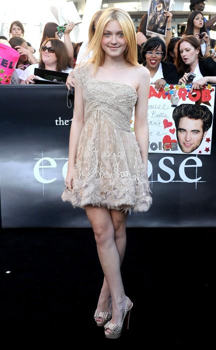 Dakota Fanning alla Premiere mondiale del film The Twilight Saga Eclipse, 2010