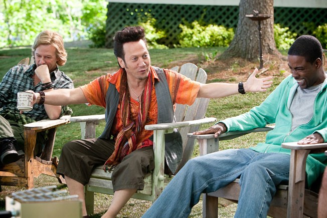David Spade, Chris Rock e Kevin James nel film Un weekend da bamboccioni