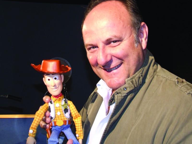 Gerry Scotti doppia Telefono chiacchierone per Toy Story 3