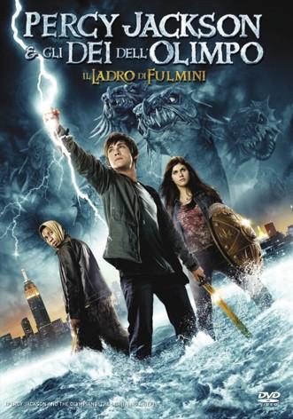 La copertina di Percy Jackson e gli dei dell'Olimpo: il ladro di fulmini (dvd)