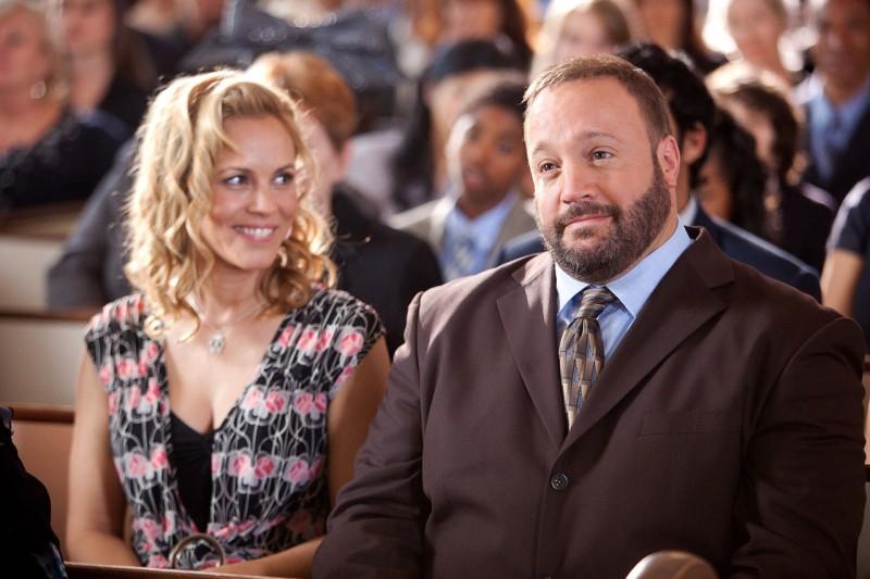 Maria Bello e Kevin James in un'immagine del film Un weekend da bamboccioni