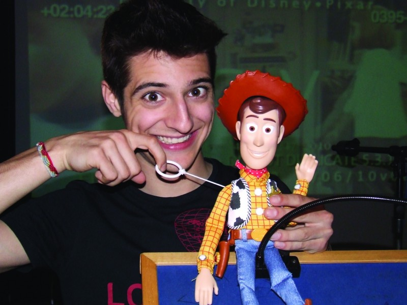 Matteo Leoni doppia Andy per Toy Story 3
